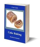 A I can cook cake baking 3D-Book-Template