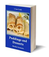 A I can cook puddings and desserts 3D-Book-Template