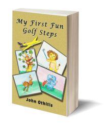 A My first fun golf steps 3D-Book-Template