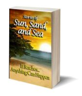 a Sun sand and sea 3D-Book-Template