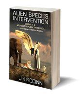 Alien specie 3D-Book-Template