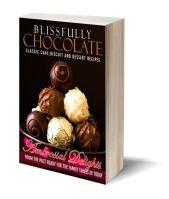 Blissfully chocolate 3D-Book-Template