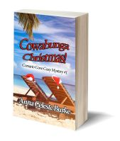 Cowabunga Christmas 3D-Book-Template