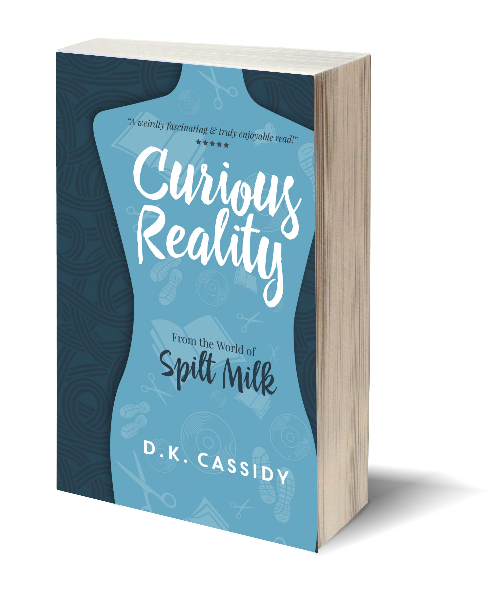 Curious reality 3D-Book-Template