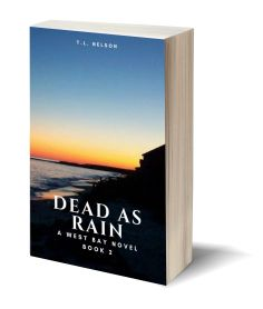 Dead As Rain 3D-Book-Template