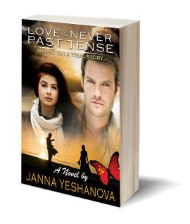 Love is never past tense 3D-Book-Template