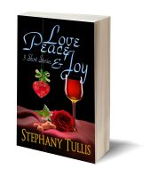 Love peace and joy 3D-Book-Template