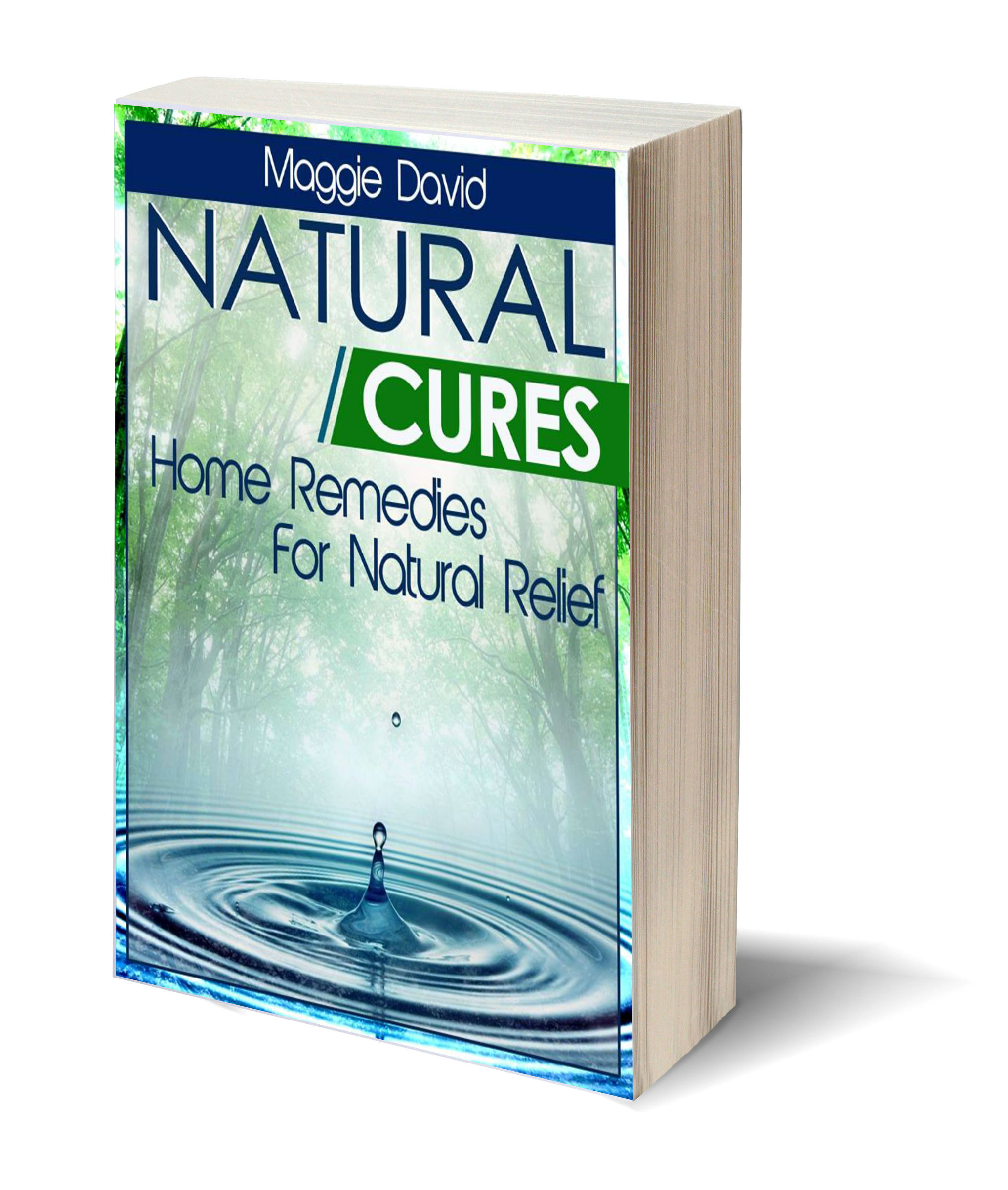 Natural cures 3D-Book-Template