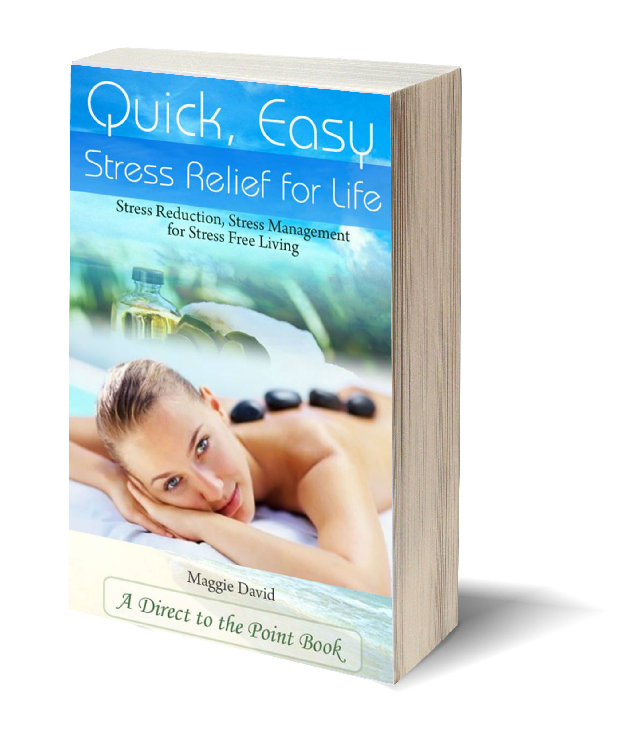 Stress relief 3D-Book-Template