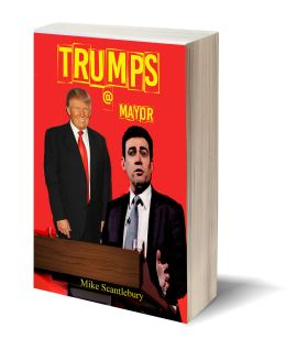 Trumps a Mayor 3D-Book-Template