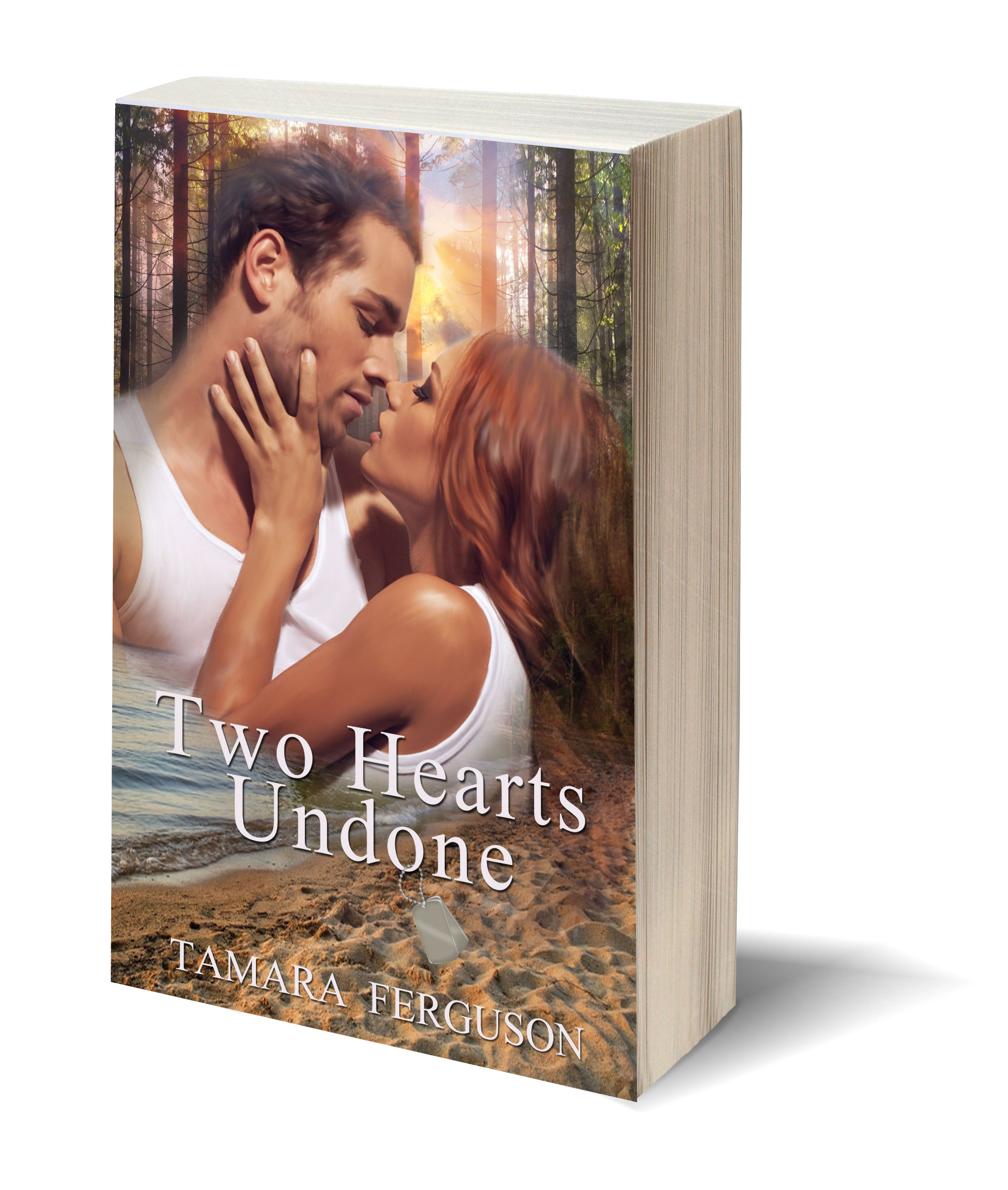 Two Hearts Undone 3D-Book-Template