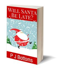 Will santa be late 3D-Book-Template