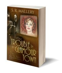 Trouble in Glamour Town 3D-Book-Template