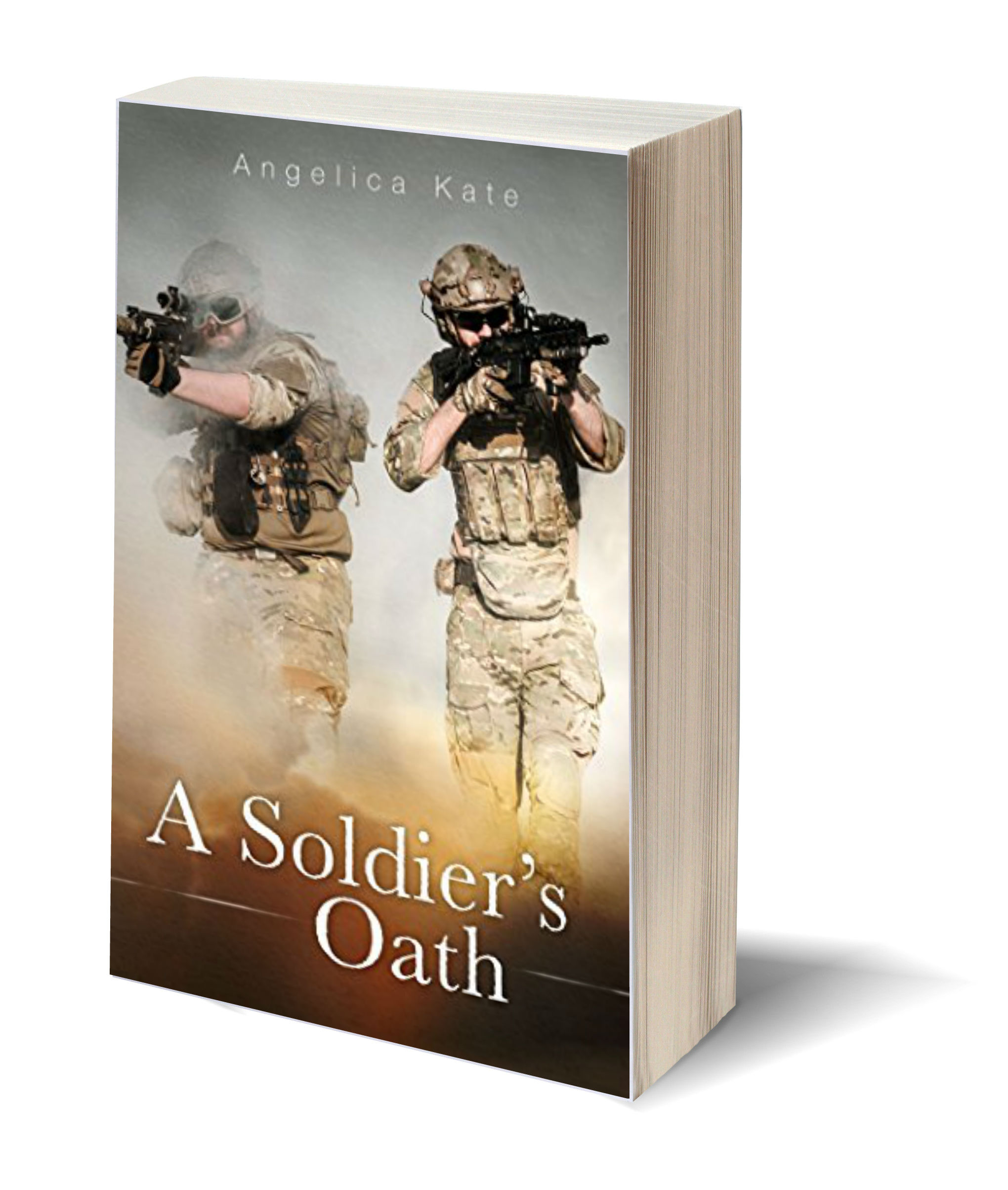 A Soldiers Oath 3D-Book-Template