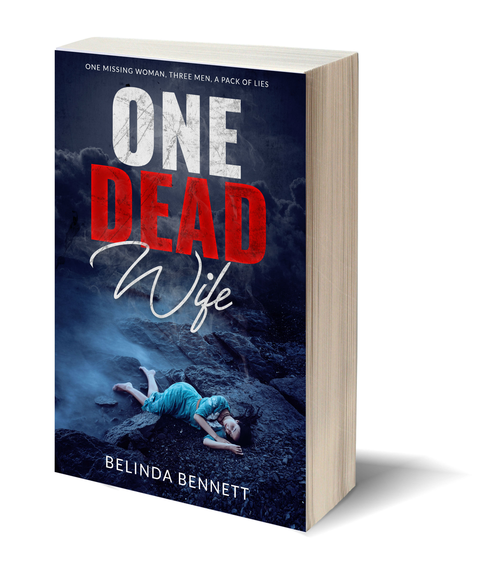 One Dead Wife 3D-Book-Template