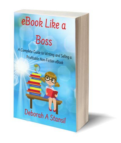 eBook like a boss 3D-Book-Template