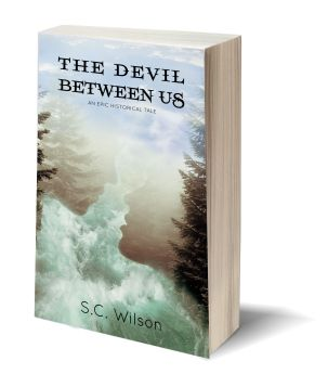 The Devil Between Us 3D-Book-Template