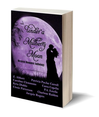 Under a Mulberry Moon 3D-Book-Template