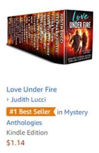 Best seller love under fire