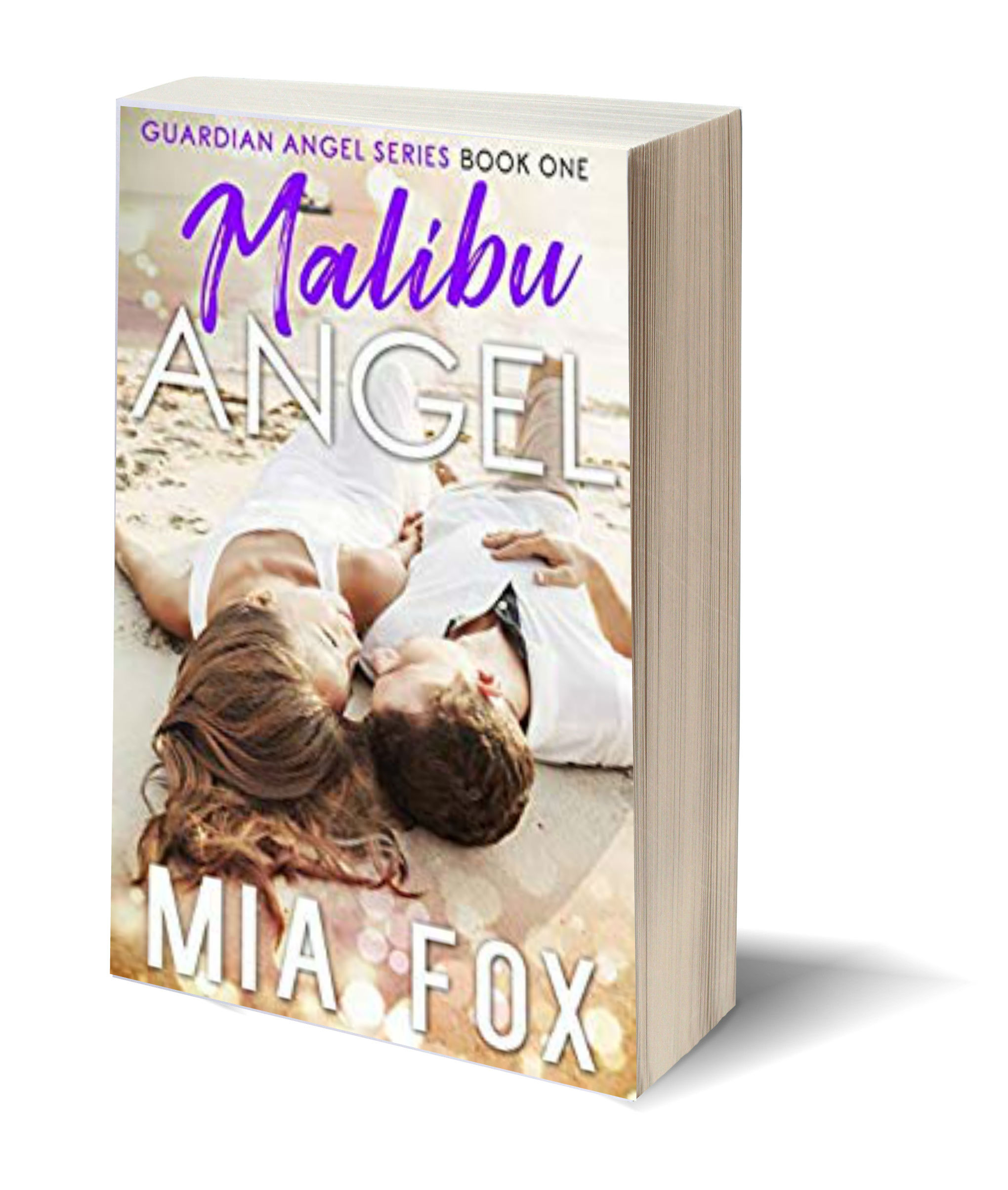 Mia Malibu Angel 3D-Book-Template