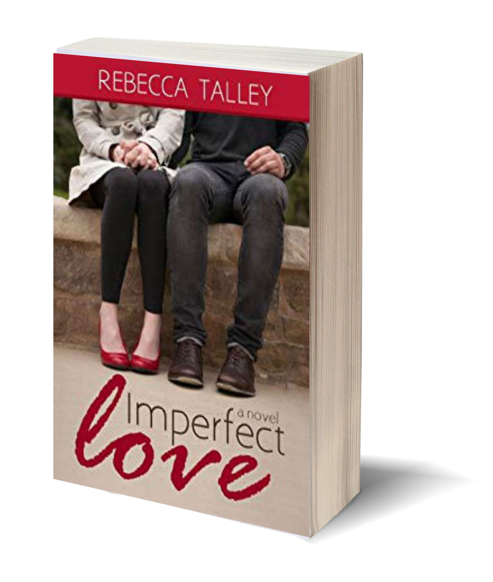 Rebecca Imperfect Love 3D-Book-Template