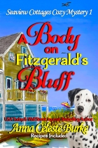 A body on fitzgerald's bluff bright 6 by 9 w dog and text plus wsj (1)