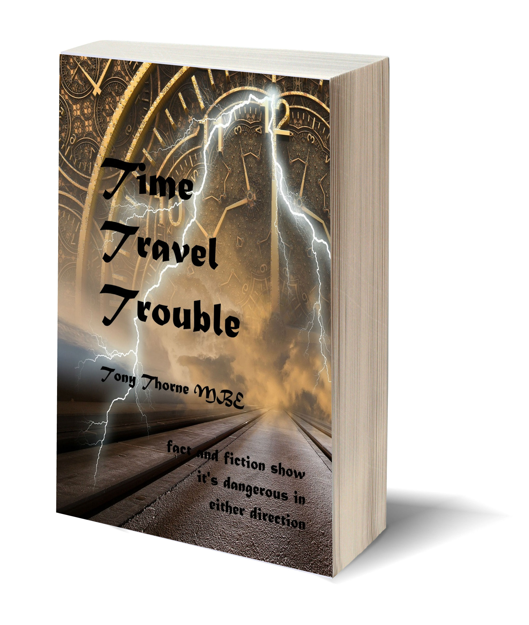 Time Travel Trouble 3D-Book-Template