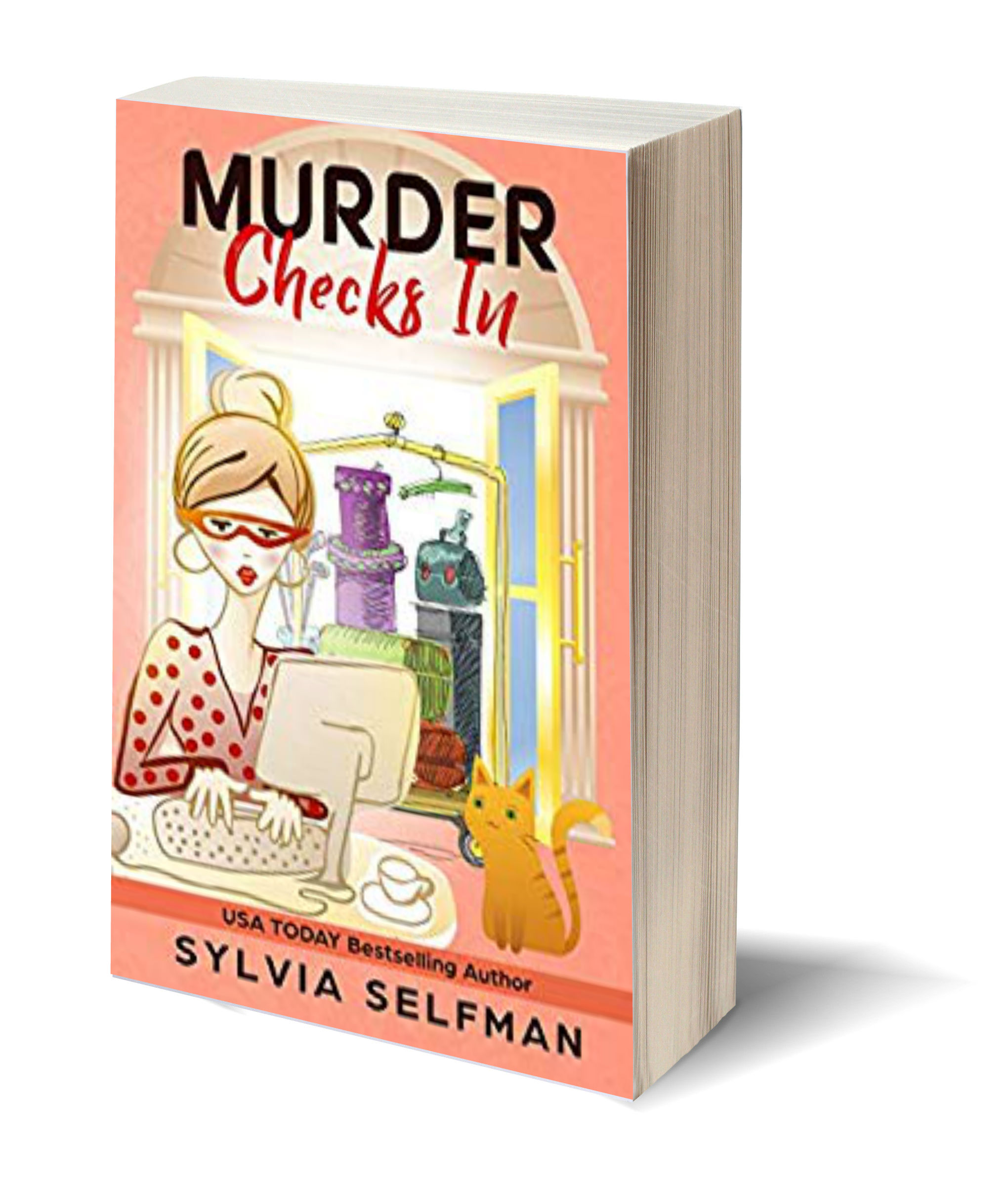 Murder Checks In 3D-Book-Template