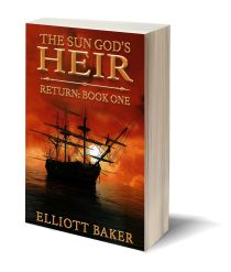 The Sun God's Heir Return Book One 3D-Book-Template.jpg