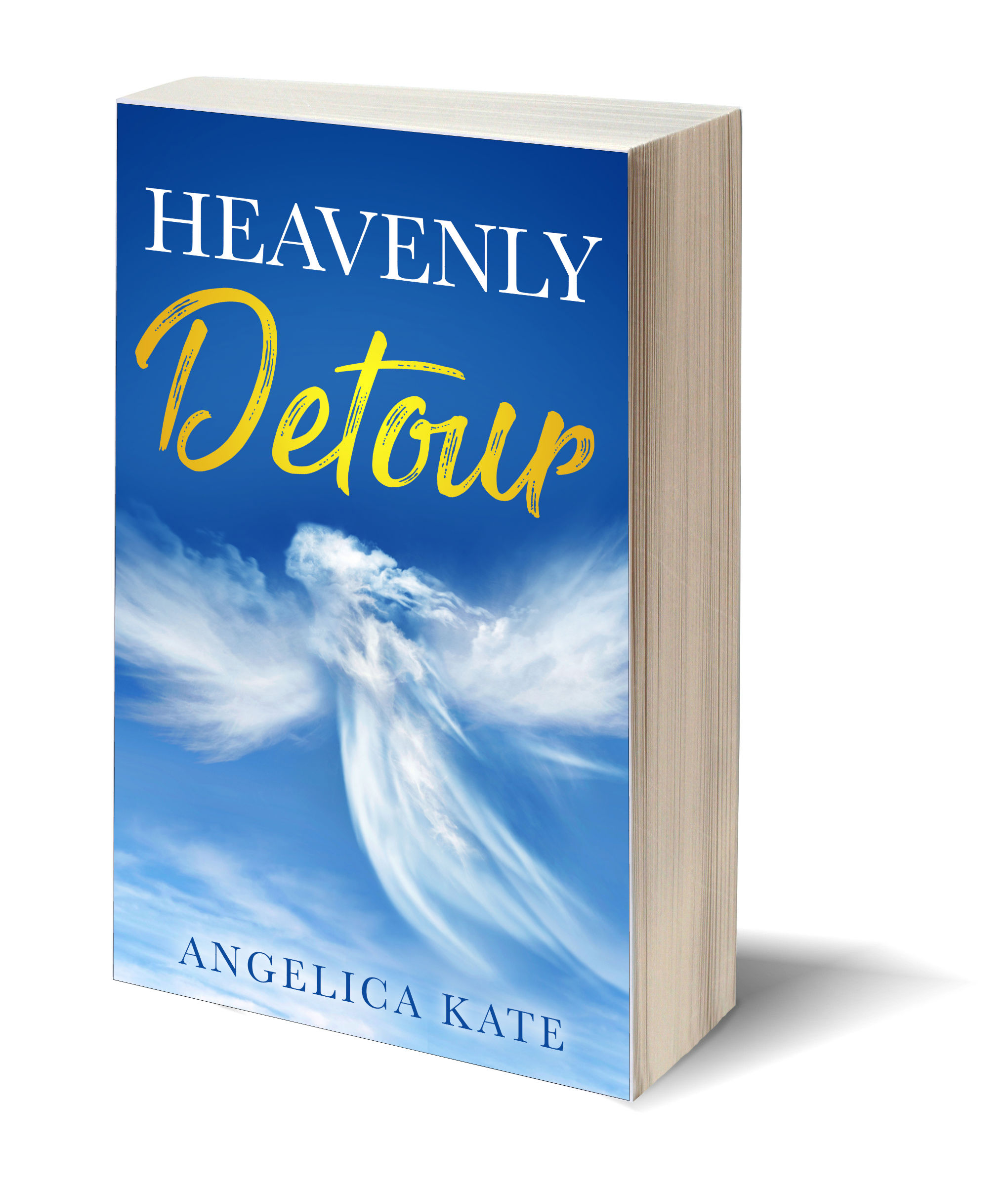 Heavenly Detour 3D-Book-Template