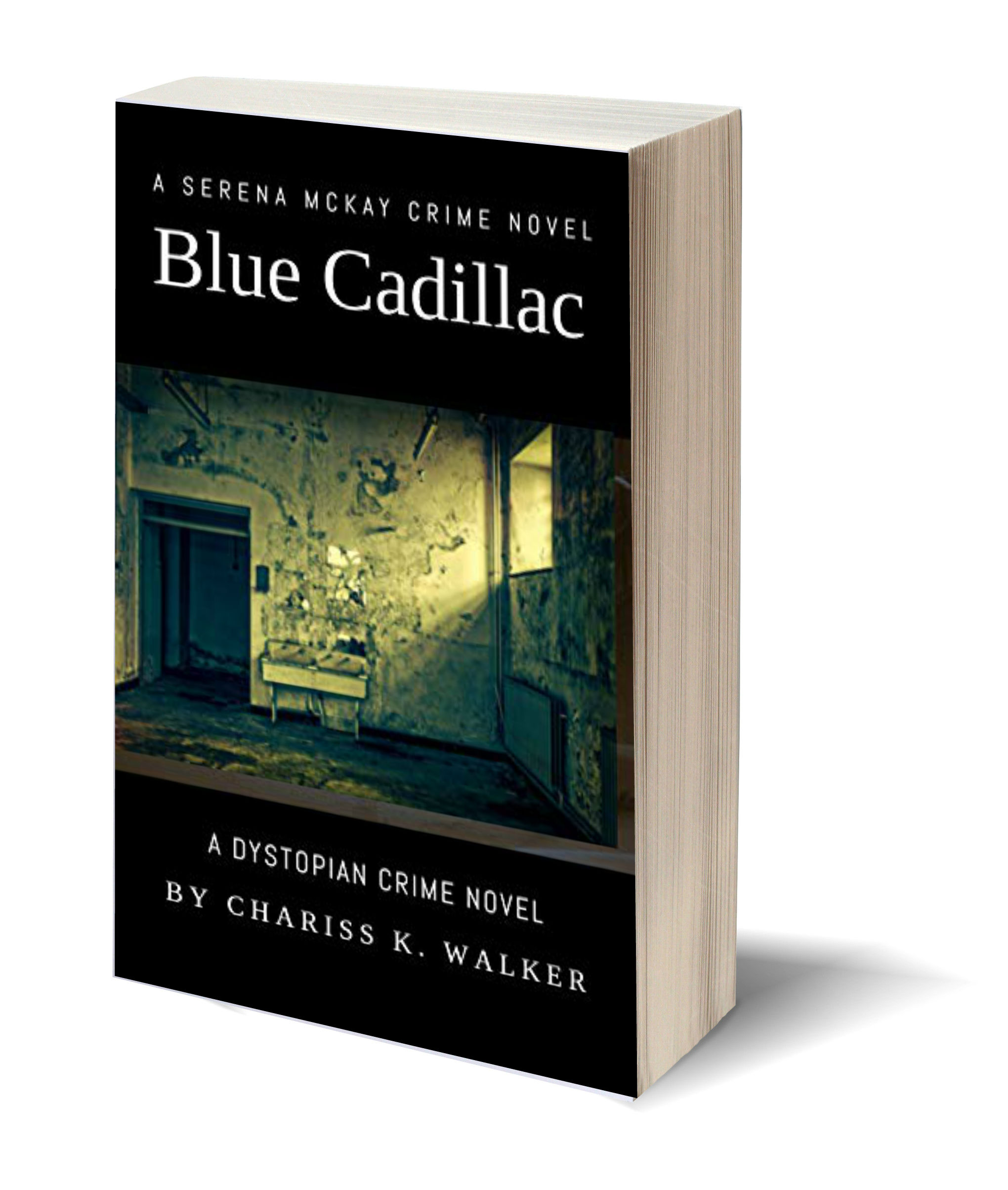 Blue Cadillac 3D-Book-Template