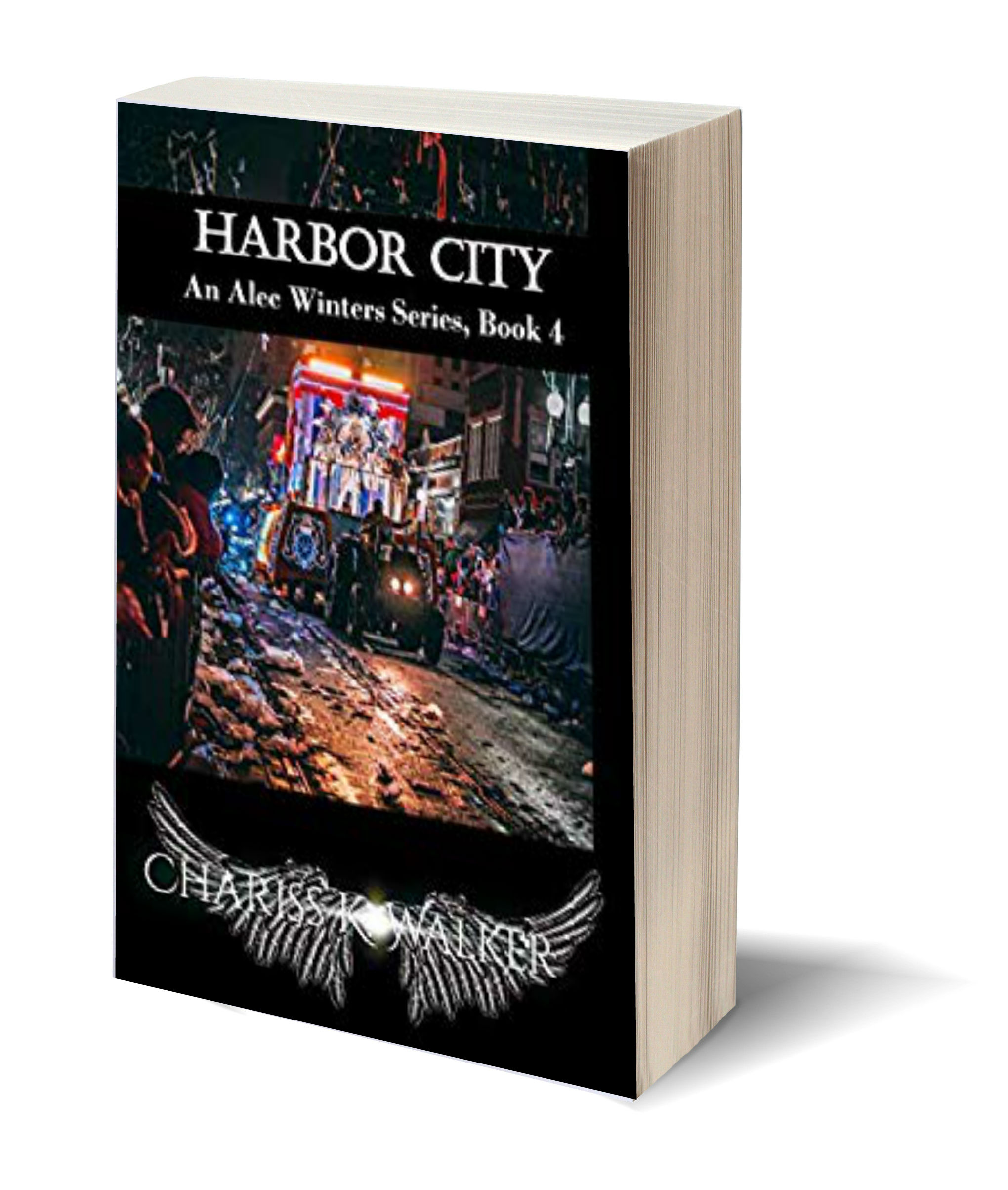 Harbor City 3D-Book-Template