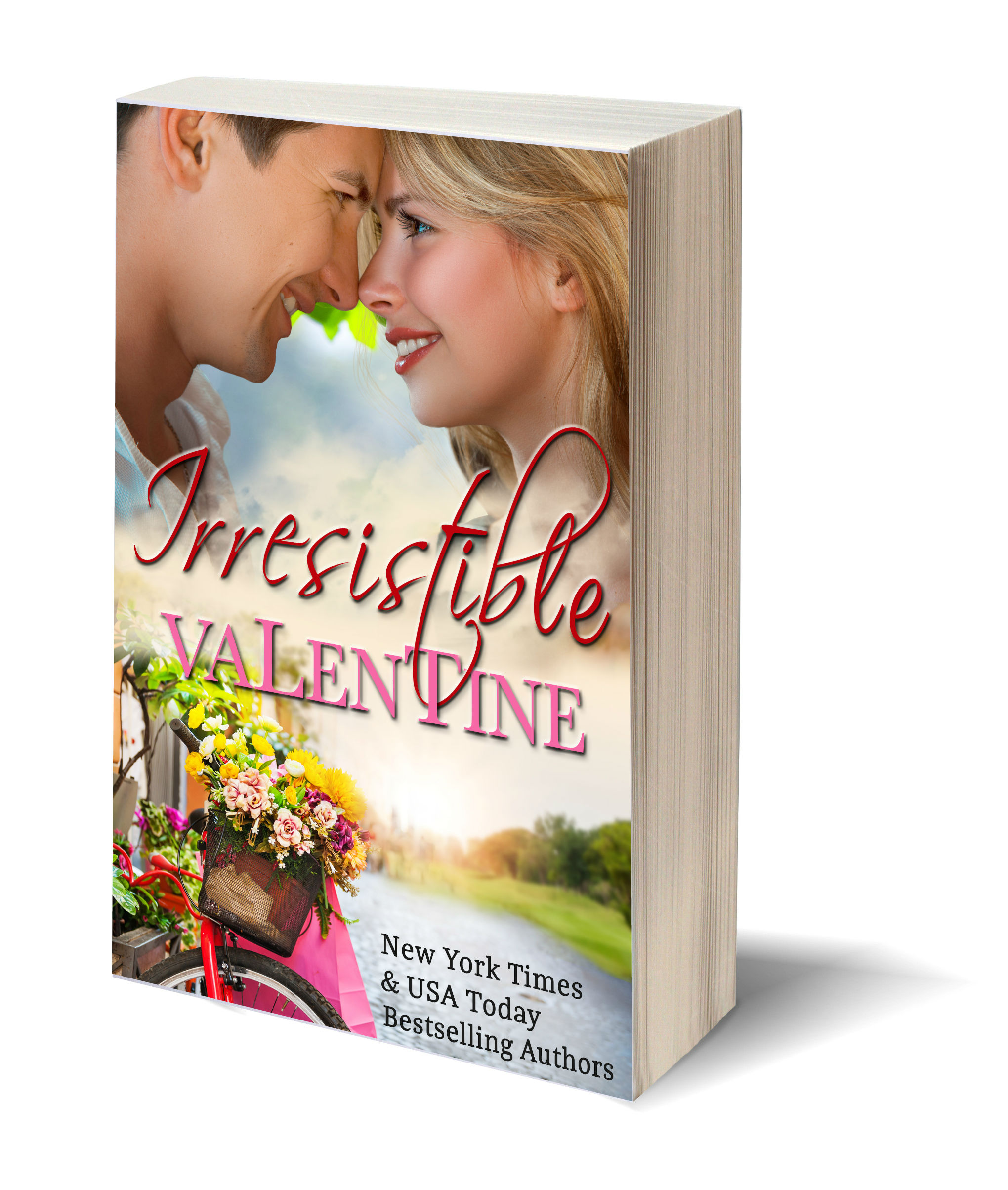 Irresistible Valentine 3D-Book-Template