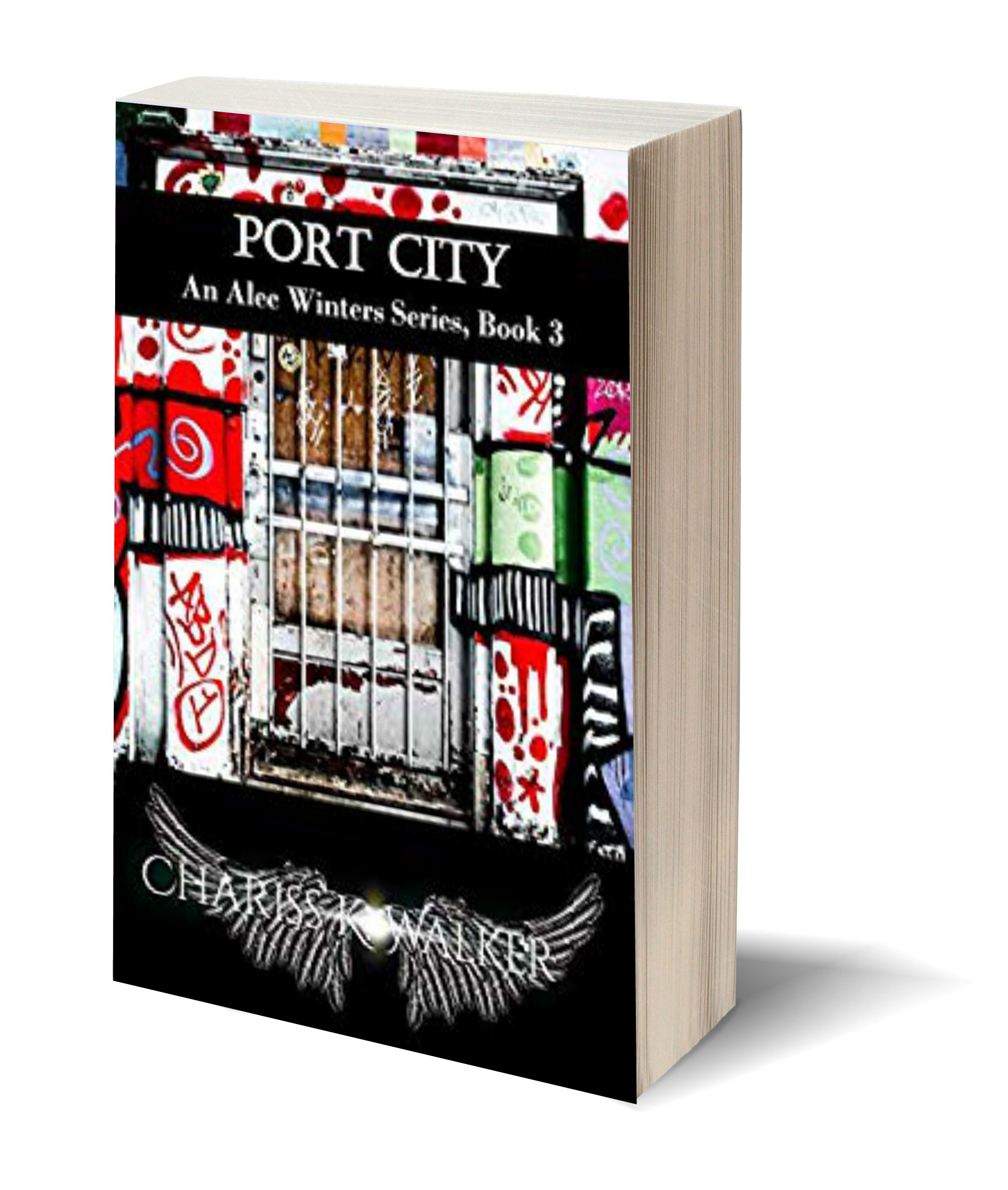 Port City 3D-Book-Template