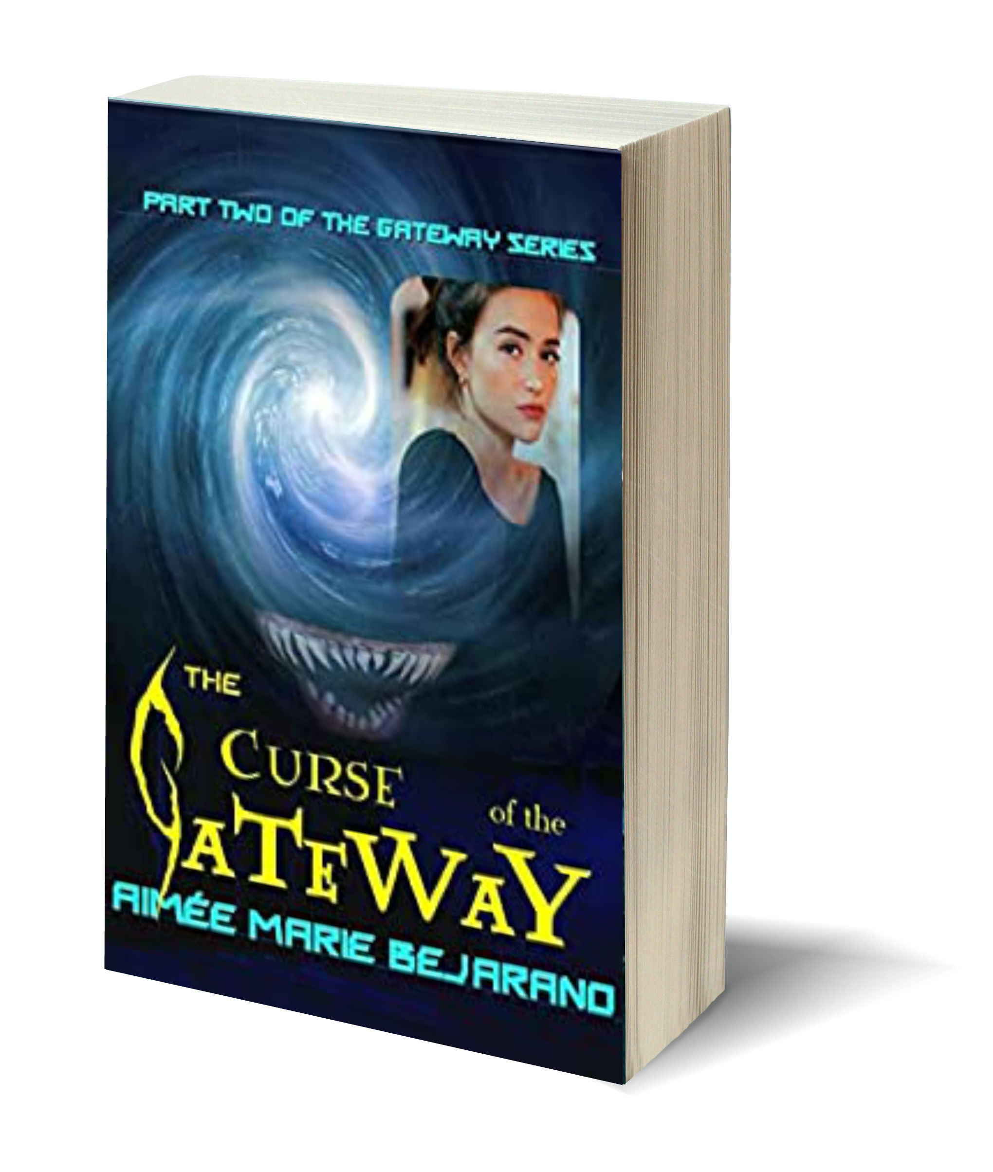 The Curse of the Gateway 3D-Book-Template