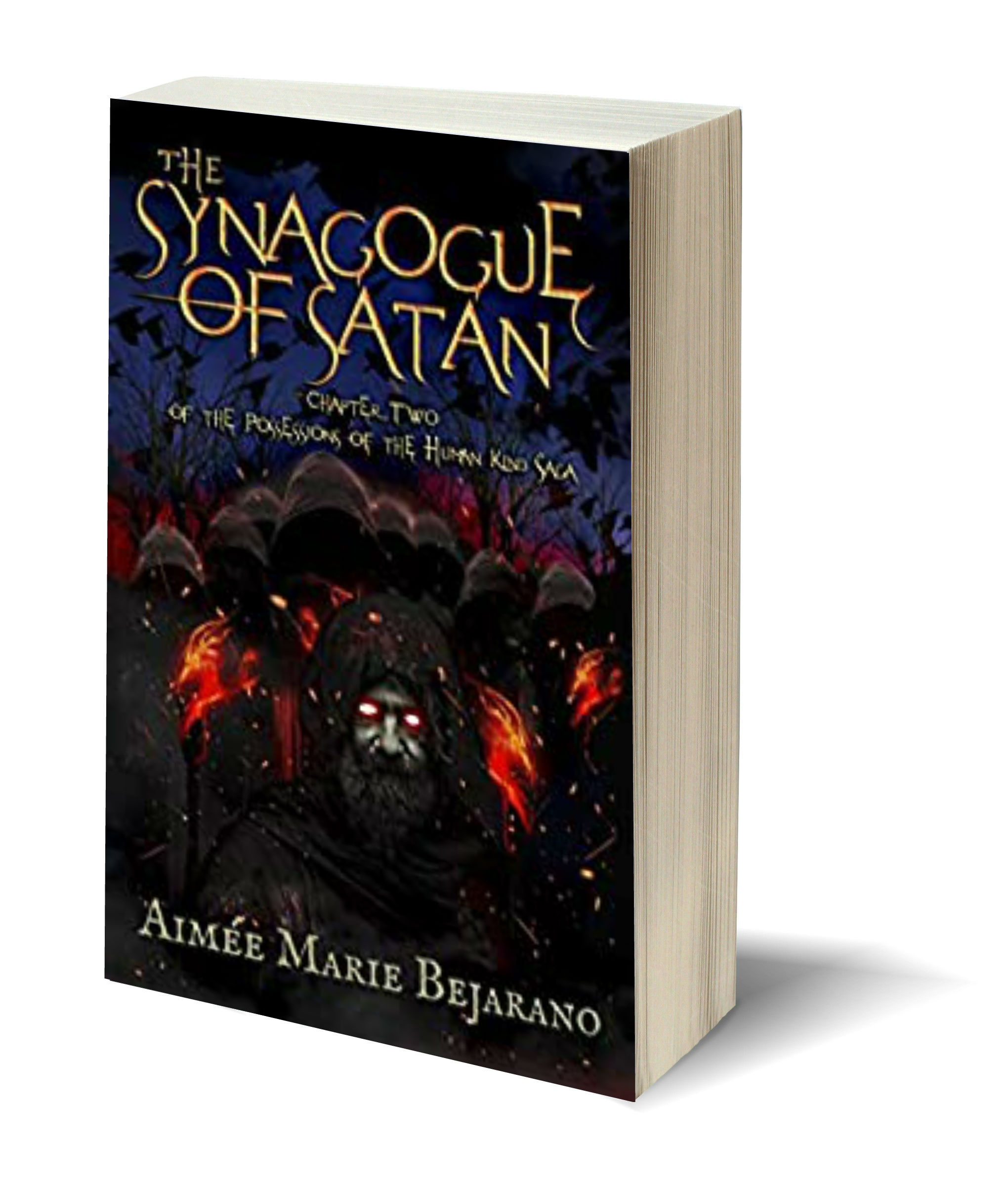 The Synagogue of Satan 3D-Book-Template