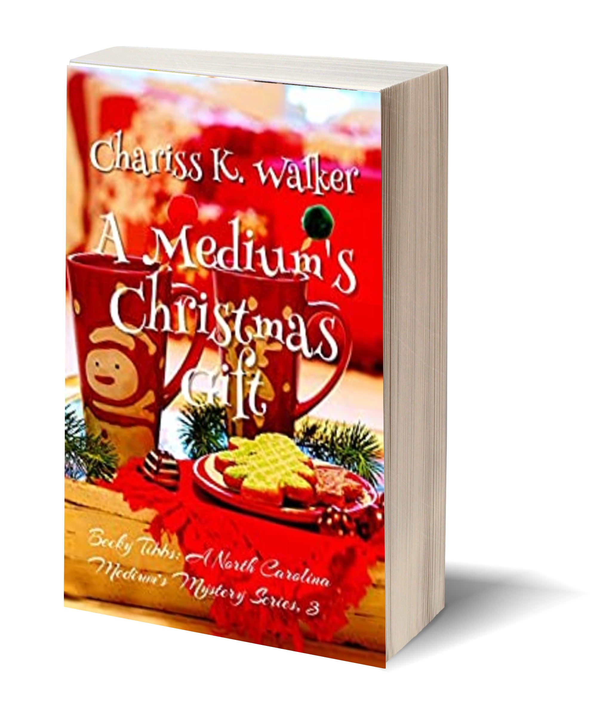 A Mediums Christmas Gift 3D-Book-Template