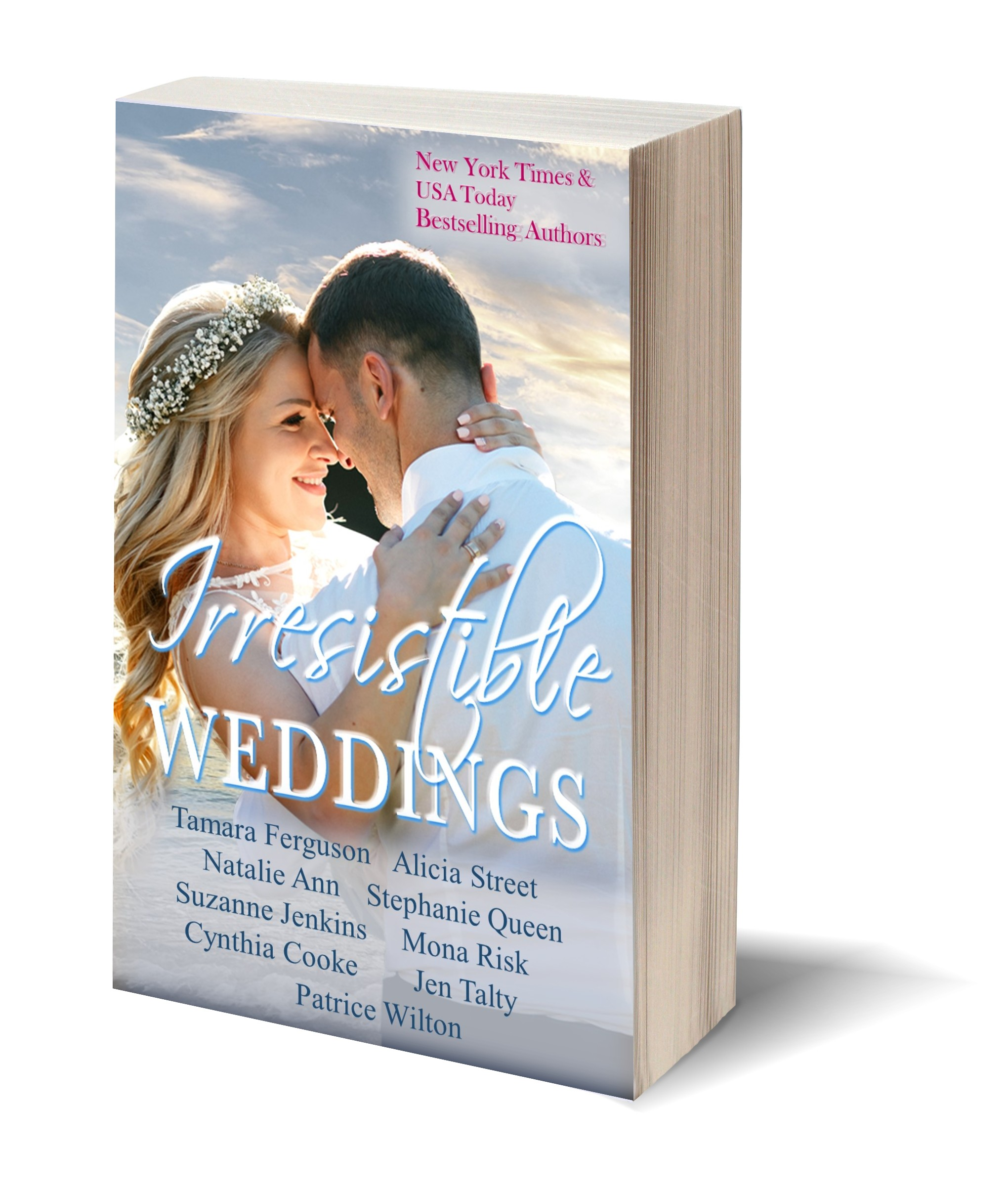 Irresistible Weddings 3D-Book-Template