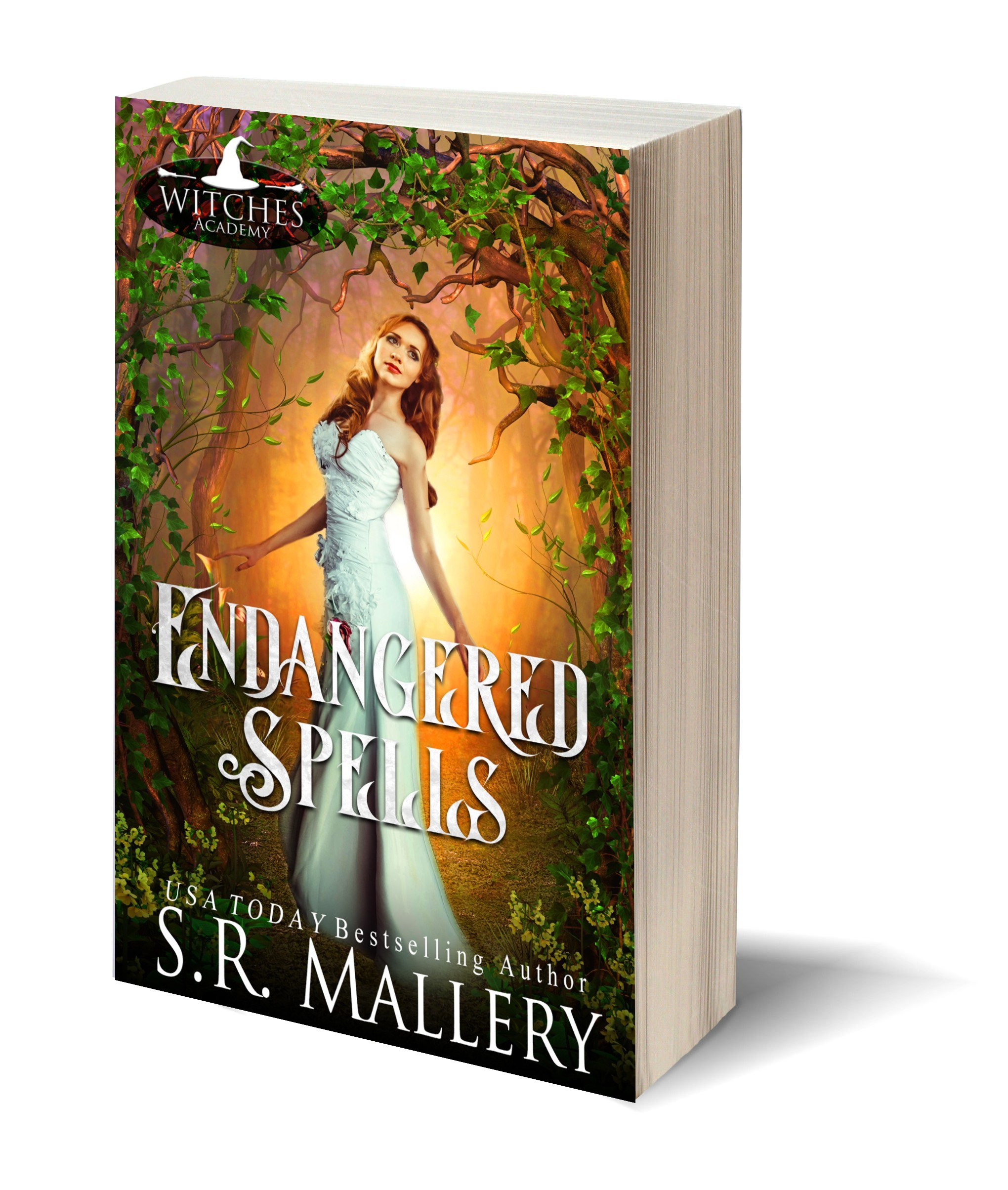 Endangered Spells 3D-Book-Template