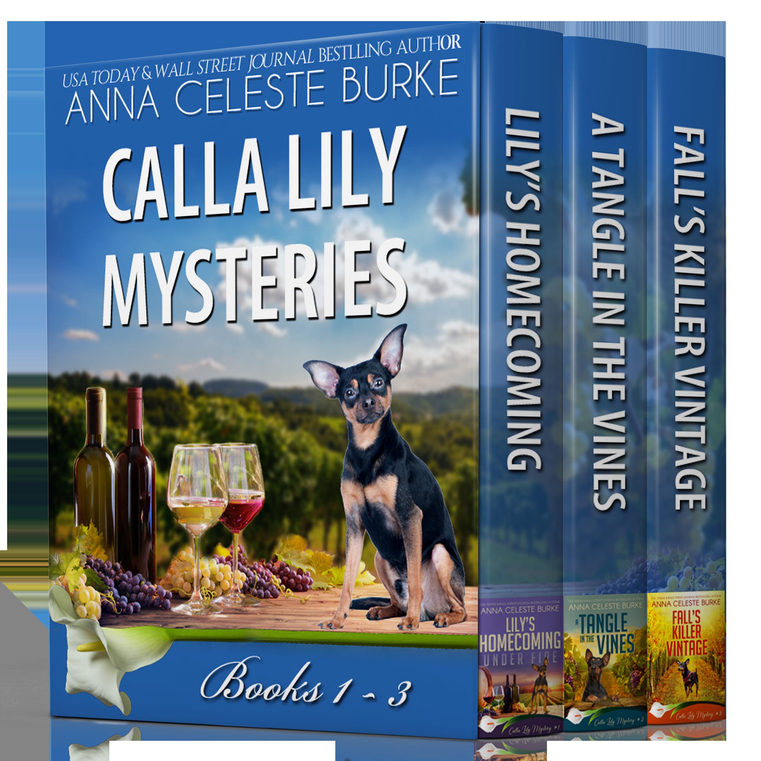 Calla Lily Mysteries 1-3