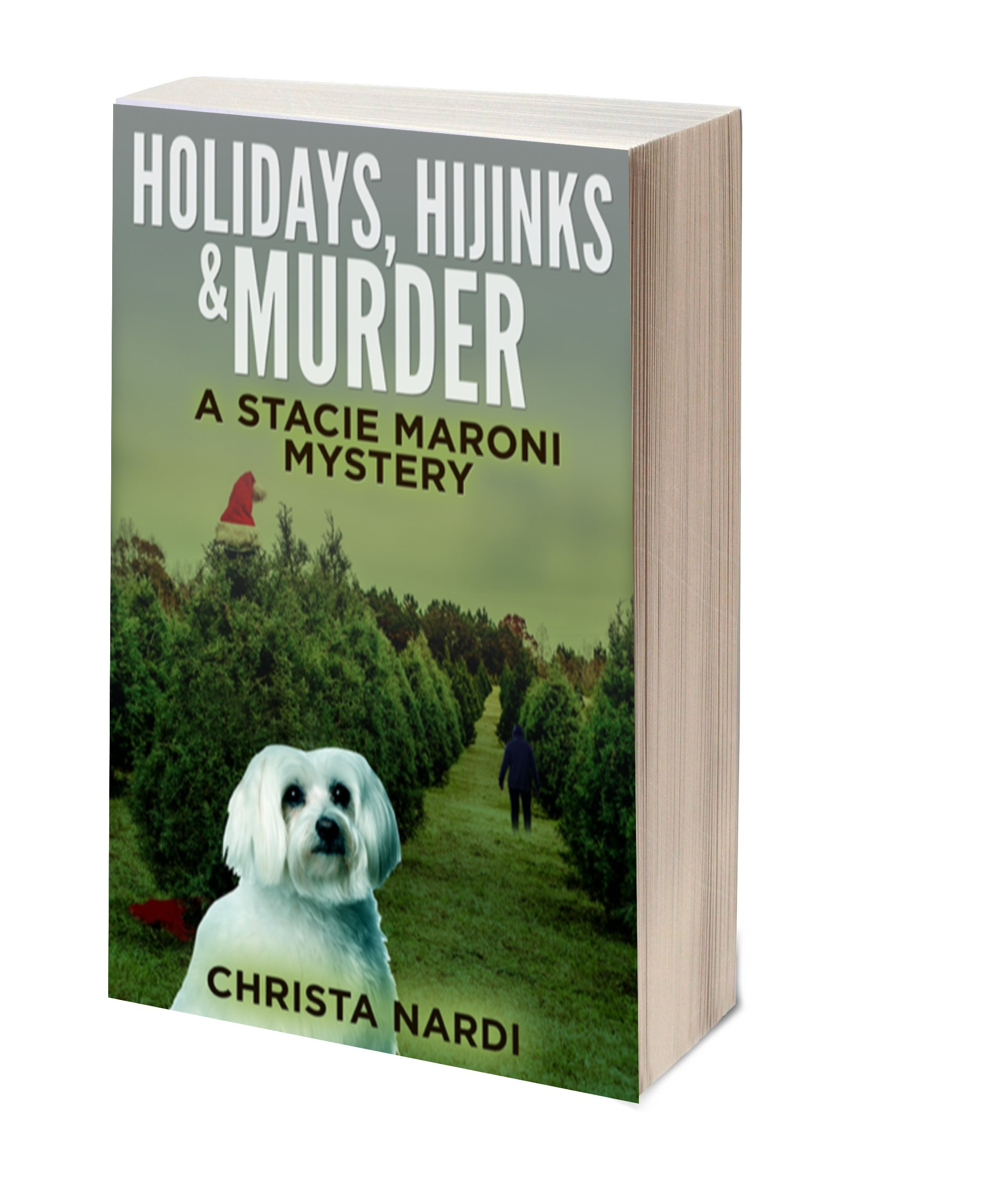 Holidays Hijinks & Murder 3D-Book-Template 2